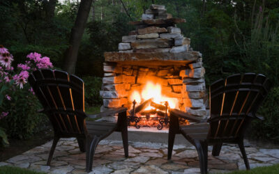 Enhance Your Home by Adding an Outdoor Fireplace or Fire Pit